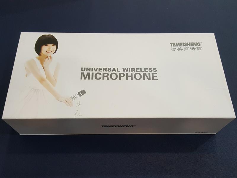 Bộ micro không dây Temeisheng W-88