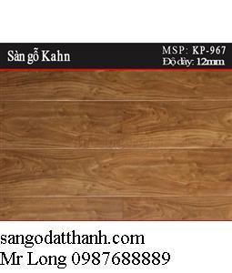 Sàn gỗ Kahn Đức tại Hà Nội