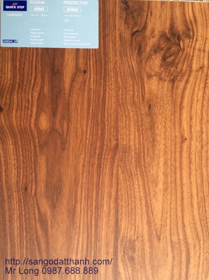 Sàn gỗ QuickStep Bỉ U1043 dày 8mm và 9,5mm