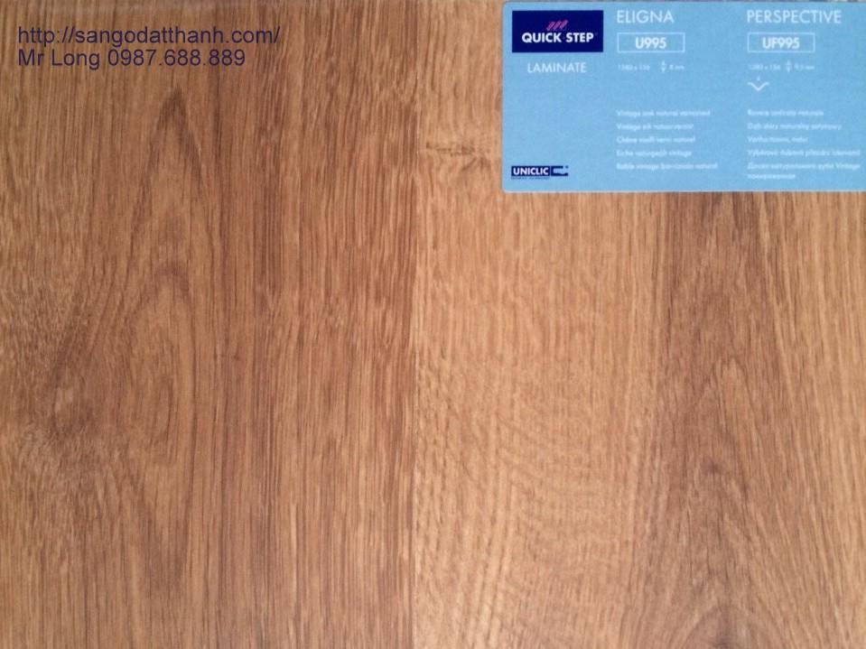 Sàn gỗ QuickStep Bỉ U995
