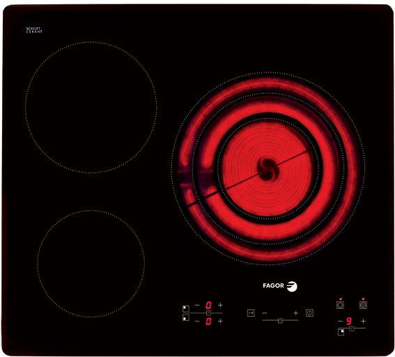 Bếp hồng ngoại Vitroceramic Fagor 2VFT-330AS