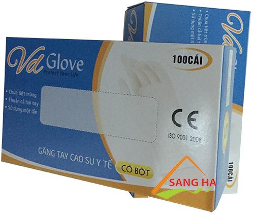 Găng tay y tế Vd-Glove giá rẻ nhất tại TPHCM