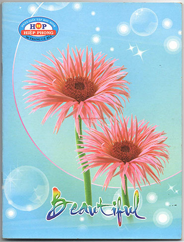 Tập Hiệp Phong 96 Trang hình Hoa Beautyful