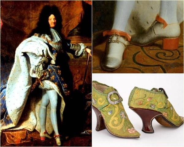Lịch sử hài hước của giày cao gót