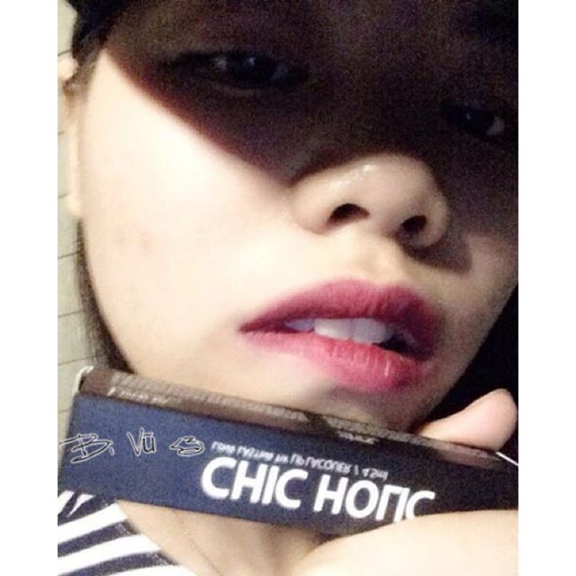 review son chic holic bloom burgundy