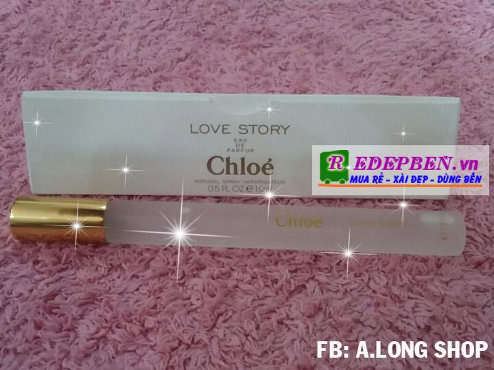 nước hoa nga chloe love story 15ml