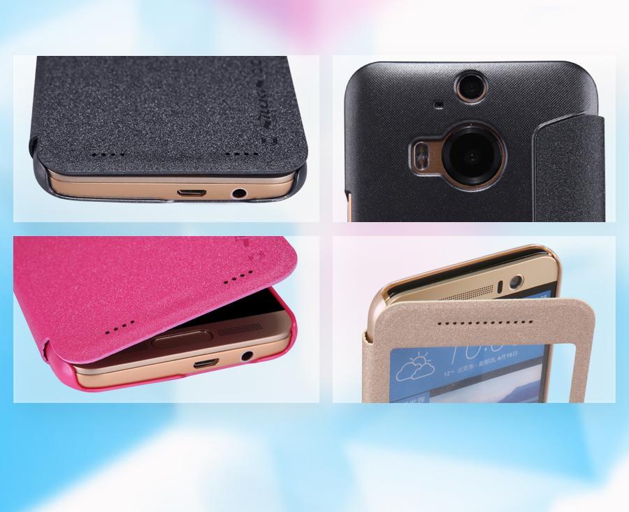 Bao da Nillkin HTC One M9 Plus