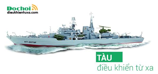tàu chiến điều khiển từ xa