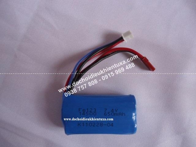 pin 7.4V - 650mah