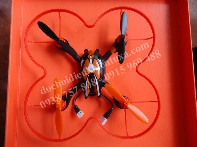 quadcopter điều khiển 4 cánh sóng 2.4g mini cao cấp