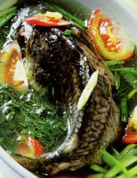 Thịt cá trắm đen ngọt và dai