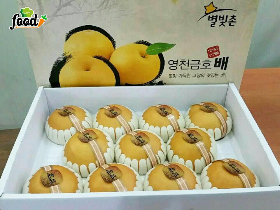 Lê Hàn Quốc làm quà biếu