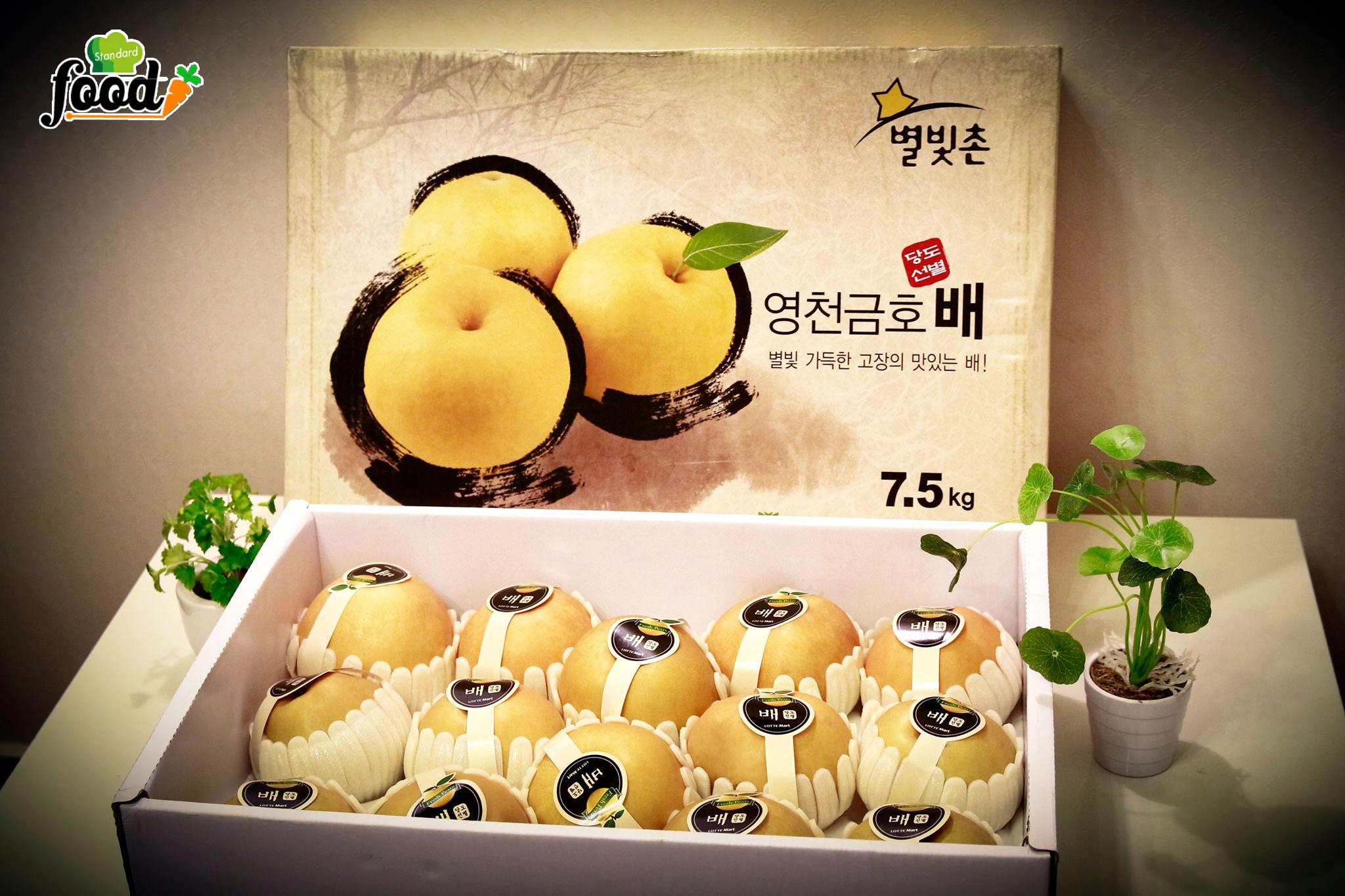 Lê Hàn Quốc siêu sạch