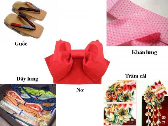 Hitomi.vn - Các phụ kiện đi kèm khi mặc trang phục kimono