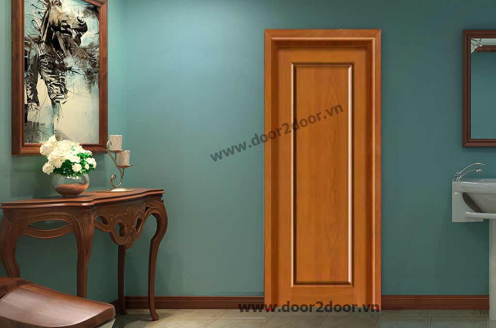 Cửa gỗ công nghiệp HDF Veneer 1P