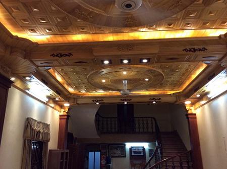 Thi công trần gỗ đẹp cho công trình