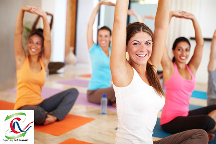 Thoải mái tinh thần với Yoga