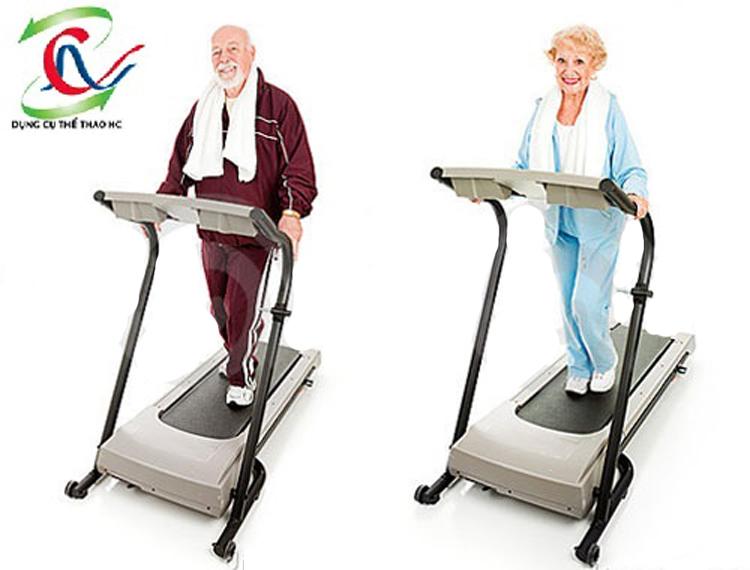 Máy chạy bộ điện cho người cao tuổi