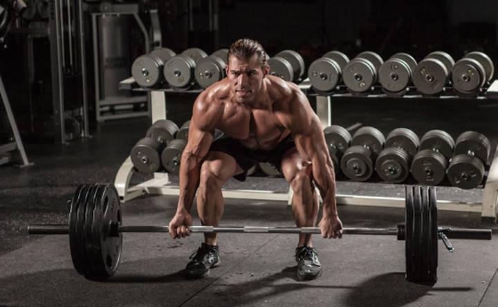 tập thể hình tạo cơ bắp săn chắc