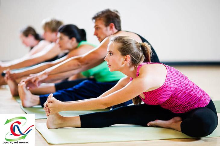 Tập luyện với Yoga