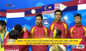 Đoàn Thể Thao học sinh Việt Nam thi đấu suất sắc
