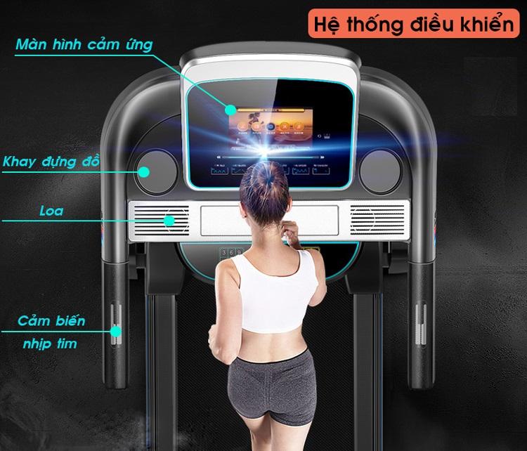 màn hình máy chạy bộ điện HQ 111