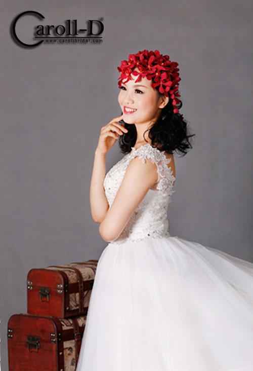 áo cưới dáng bồng kiêu sa