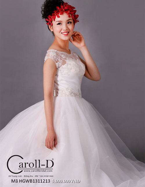 trang phục áo cưới hiện đại