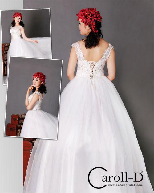 trang phục cưới dáng bồng