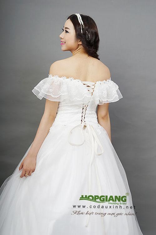 áo cưới dáng bồng trẻ trung cá tính
