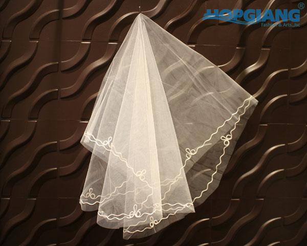 Voan cô dâu ngắn – Phụ kiện cô dâu HGWP1205