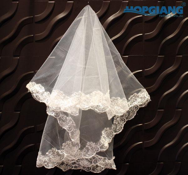Voan cài tóc cô dâu- phụ kiện cưới HGWP1214