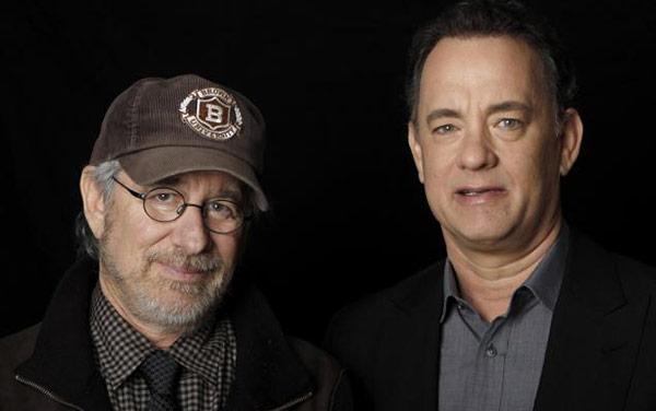 Đạo diễn Steven Spielberg và Diễn viên Tom Hanks