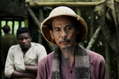 NSND Bùi Bài Bình hóa thành Hồ Chí Minh trong phim mới.
