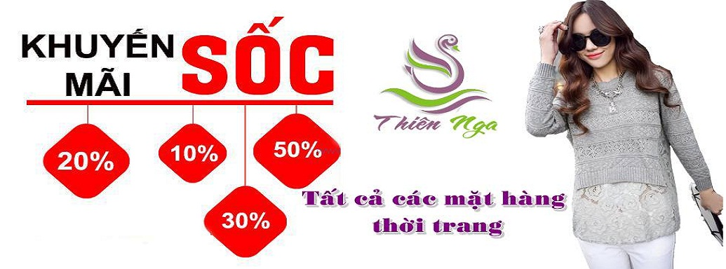 Khuyến mại lớn chỉ có tại ThienngaShop.vn