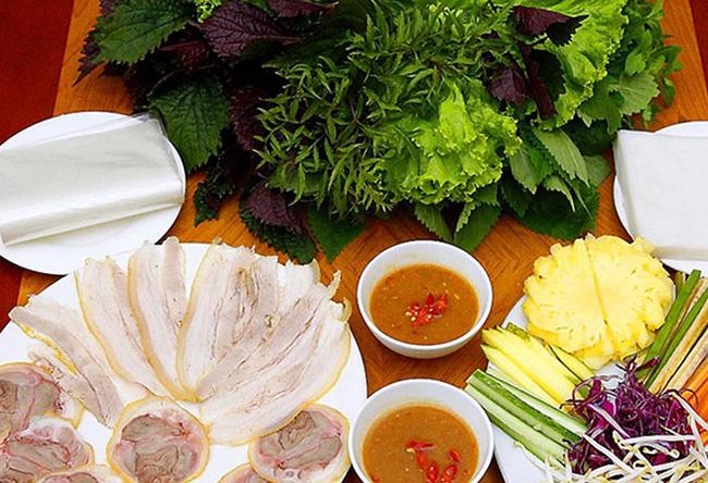 Bánh tráng cuốn thịt heo - Du lịch Đà Nẵng