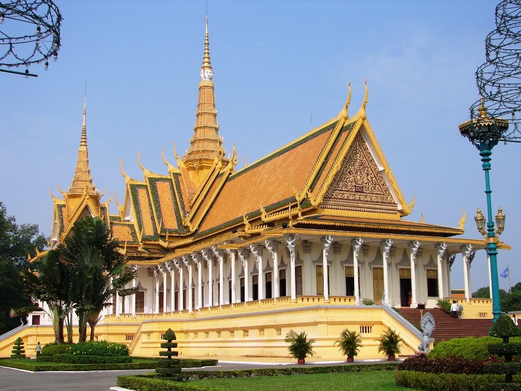 Chùa Bạc - Du lịch Campuchia 4 ngày 3 đêm