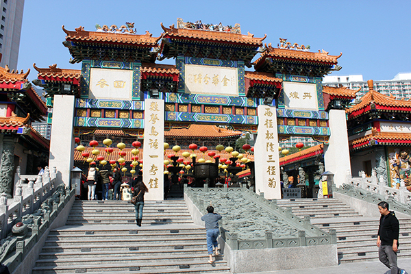 Đền thờ Huỳnh Đại Tiên - Du lịch HongKong