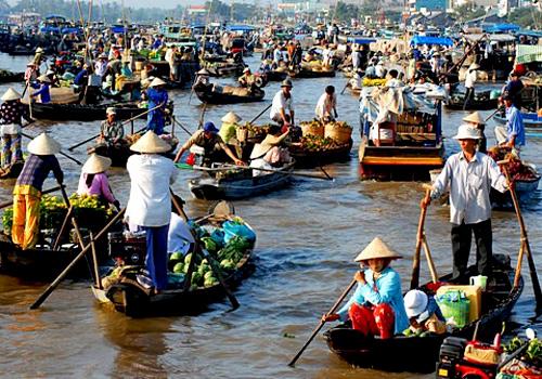Du lịch Hồ Chis Minh- Cần Thơ- Châu Đốc
