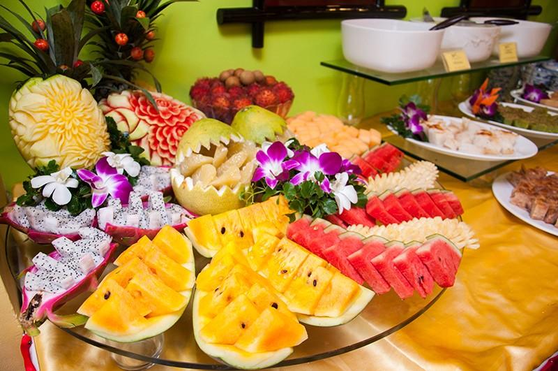 Tiệc trái cây Nha Trang
