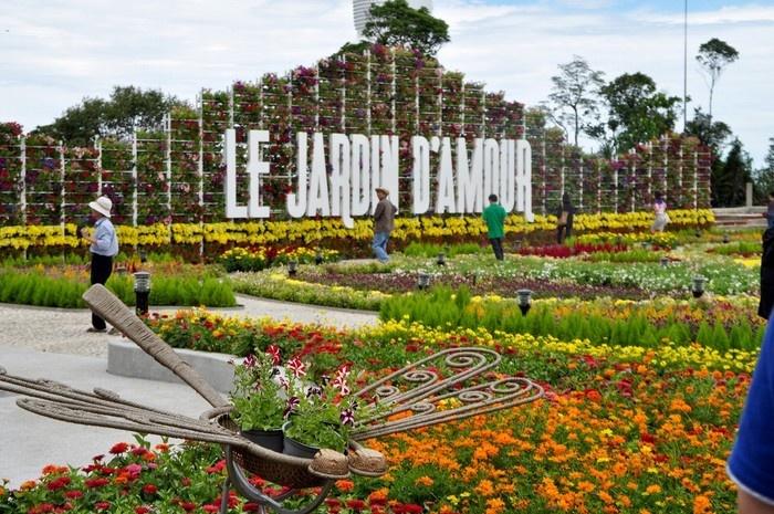 Vườn hoa Le Jardin - Du lịch Bà Nà 1 ngày