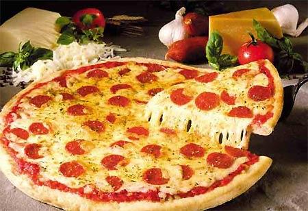Pizza món ngon nổi tiếng Mỹ
