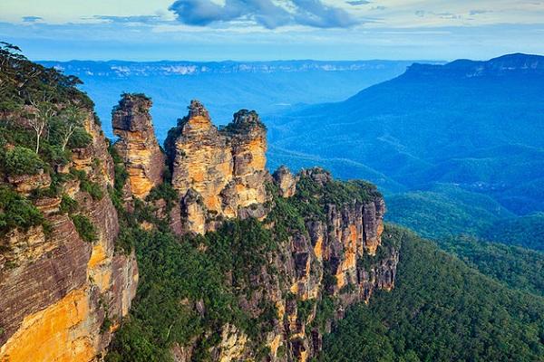 Mỏm núi Three sisters - Du lịch Úc 7 ngày 6 đêm