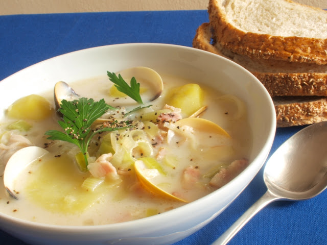 sup nghêu mỹ - handetour