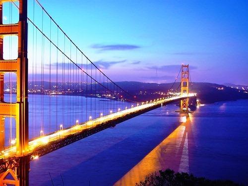 cầu cổng vàng Golden Gate du lịch phượt Mỹ