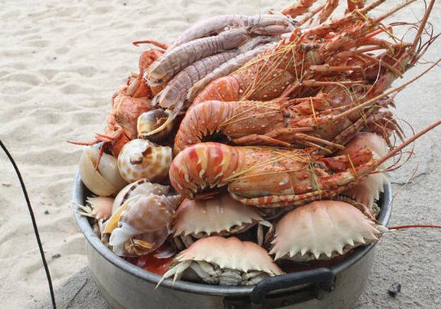 Hải sản tươi sống - Du lịch biển Nha Trang