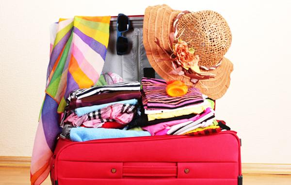 chuần bị hành lý du lịch phượt Mỹ