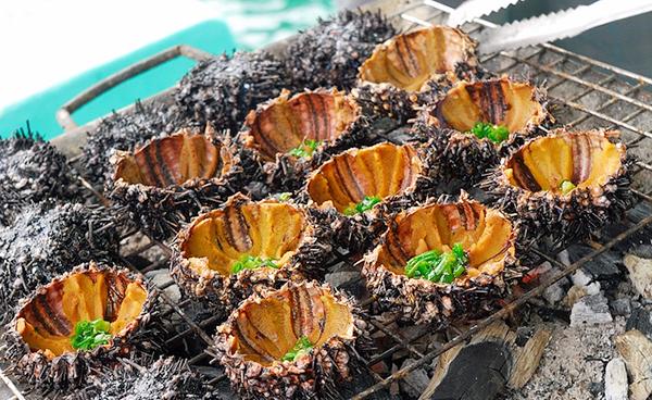 Nhum nướng mỡ hành - Phú Quốc 3 ngày 2 đêm Handetour