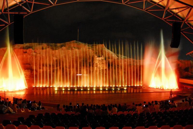 Sân khấu nhạc nước Vinpearl Nha Trang