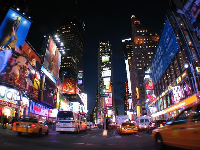 qunagr trường times square new york du lịch Mỹ